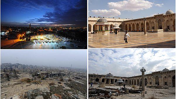 Feltárulnak Aleppó sebei a harcok után