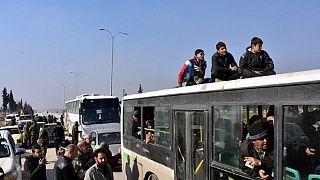 Syrie : les civils d'Alep-Est évacués