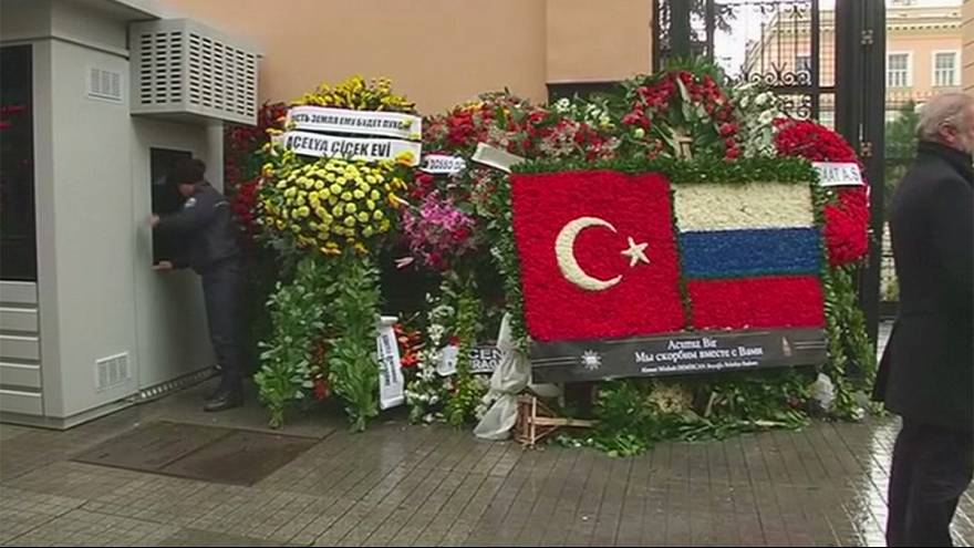 Funeral of Russia's murdered envoy takes place in Moscow today