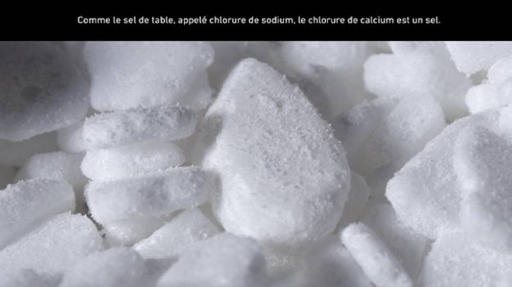 Déliquescence du sel
