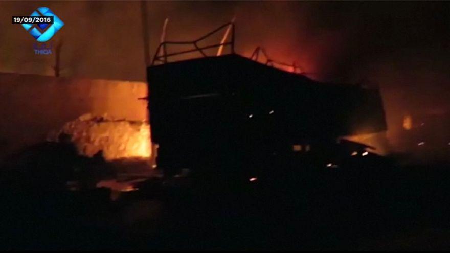 ООН не установила виновных в обстреле гумконвоя в Сирии