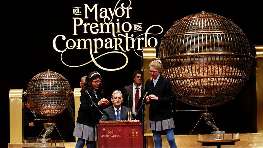 """66.513, el """"Gordo"""" de la lotería de Navidad en España"""