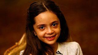 Halepli çocukların dramını dünyaya duyuran küçük kız Türkiye'de