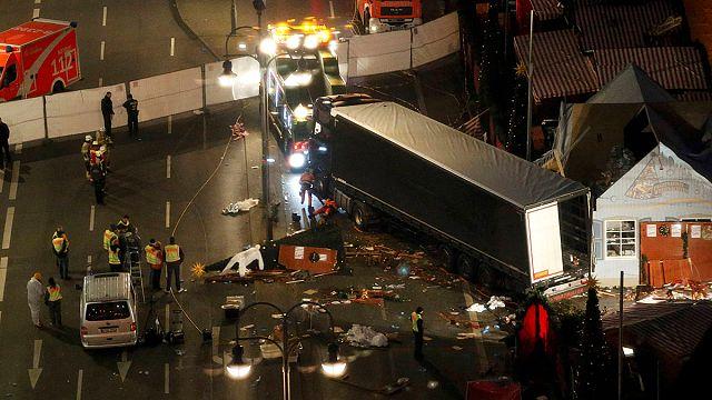 Tunisian suspect's fingerprints found in cab of Berlin truck attack