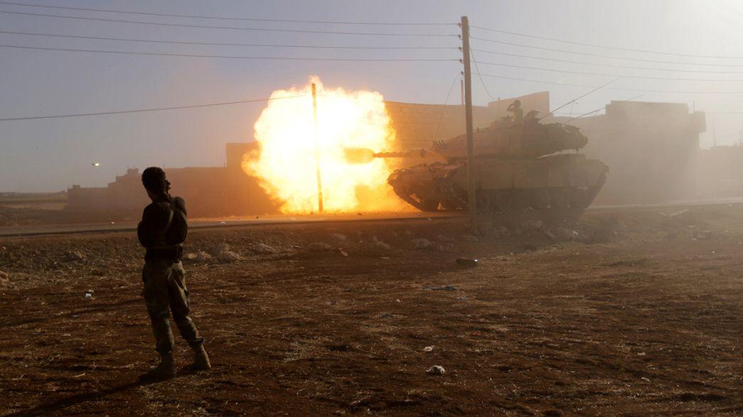 A török hadseregnek is vannak veszteségei Szíriában