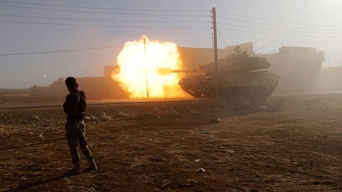 Сирия: бои за Эль-Баб