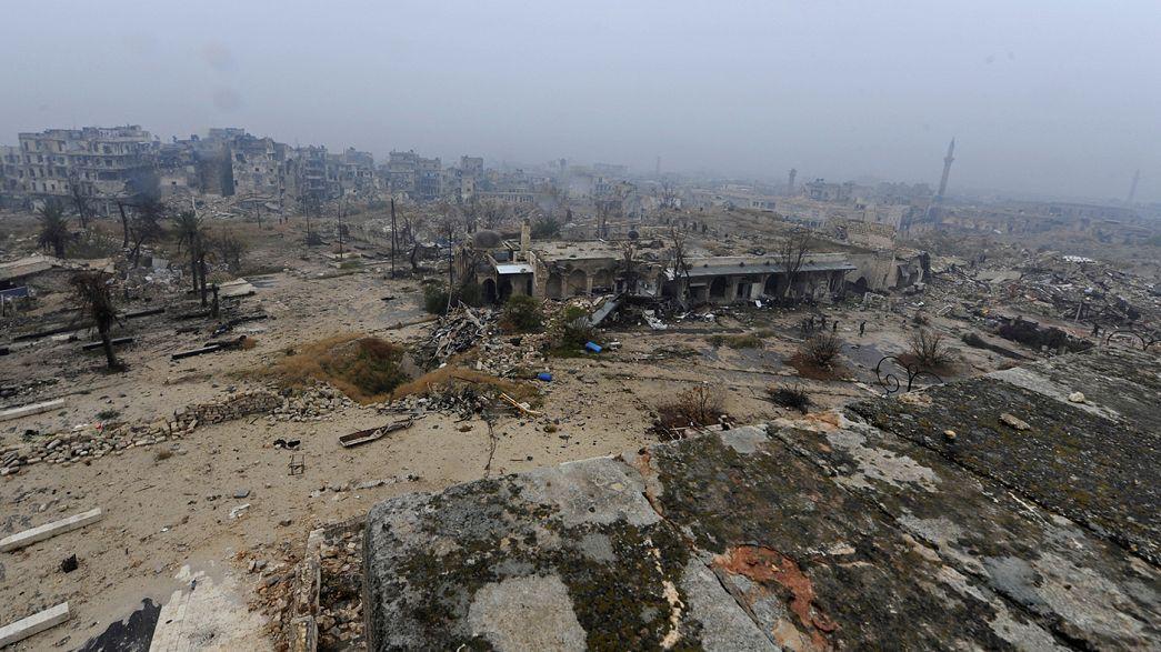 Alepo regressa ao controlo das autoridades sírias