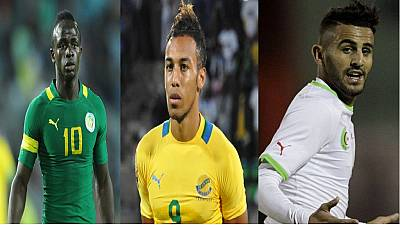Aubameyang returns for 2016 African Player of the Year facing Mahrez and Mane
