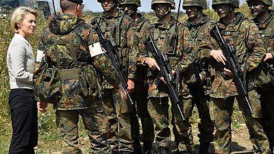 Présence militaire allemande en Afrique
