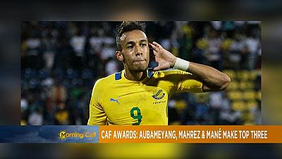 Aubameyang, Mahrez, Mane on CAF African player shortlist [Sports on TMC]