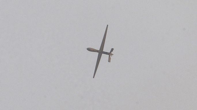 فیلم واضح از شلیک ضد هوایی در تهران