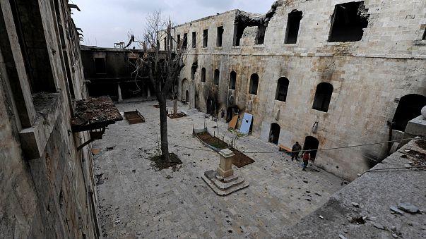 المرصد السوري: سقوط عشرات المدنيين جراء غارات تركية على مدينة الباب شمال سوريا