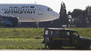 [Updated] Hijacked Libyan plane in Malta, all hostages released, hijackers arrested