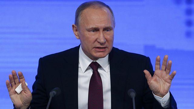 """""""Nous sommes plus fort que n'importe quel agresseur potentiel"""" (Poutine)"""