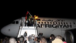 Libyan airline passengers freed, hijackers surrender