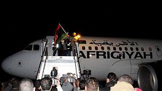 Libyan airline passengers freed, hijackers surrender