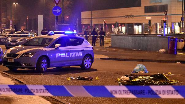Berlin saldırısı zanlısı Milano'da polisle girdiği çatışmada öldürüldü