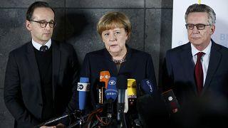 Angela Merkel hat sich in einer Pressekonferenz zum Tod von Anis Amri geäußert