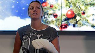 Kvitovát kiengedték a kórházból