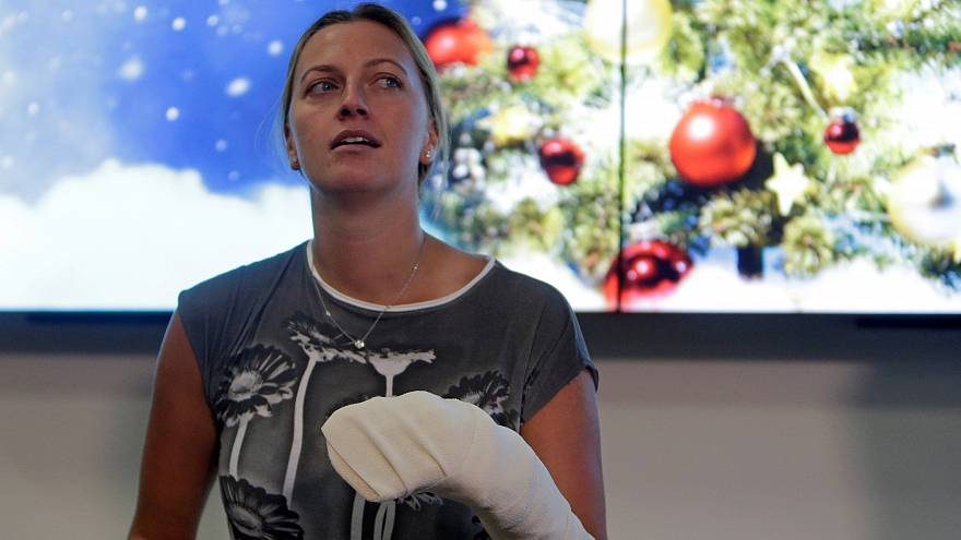 Kvitova determined to return to the courts after knife attack