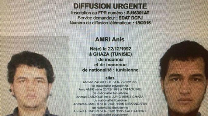 Anis Amri, de la petite délinquance à l'attentat djihadiste