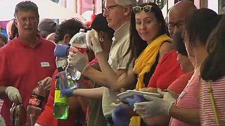 Afrique du Sud un déjeuner gratuit pour les sans-abri au Cap