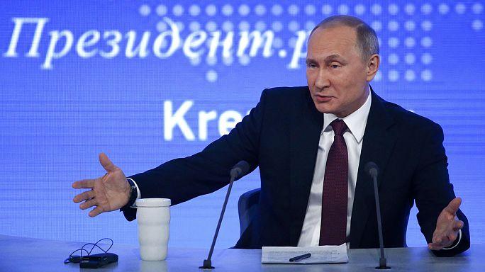 Putyin: nincs állami doppingrendszer