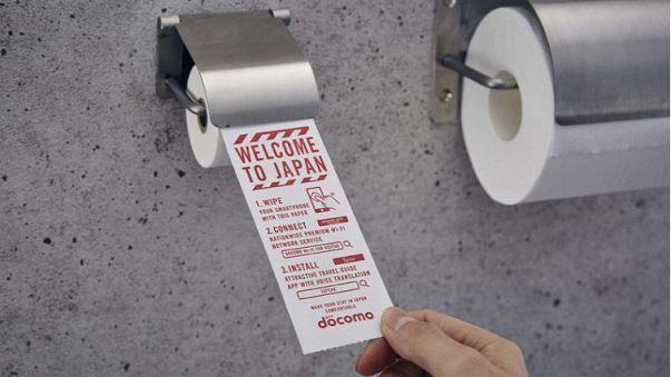 Japonya: Cep telefonları için tuvalet kağıdı