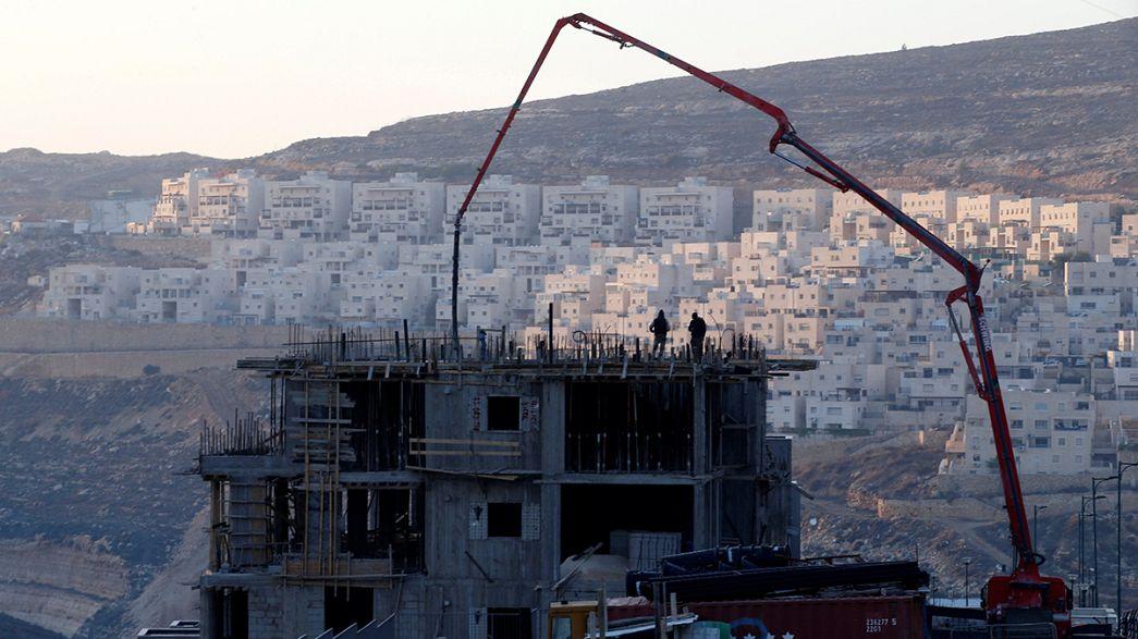 """EUA ajudam ONU a """"chumbar"""" colonatos de Israel na Palestina"""