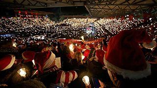 Berlin saldırısı kurbanları için anma konseri