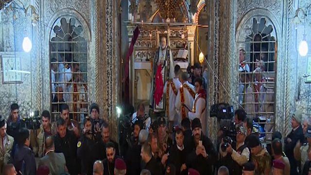 Az első karácsonyi mise az iraki Bartellában két éve