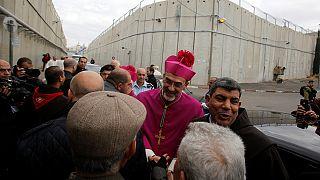 Miles de peregrinos llegan a Belén para la Misa del Gallo