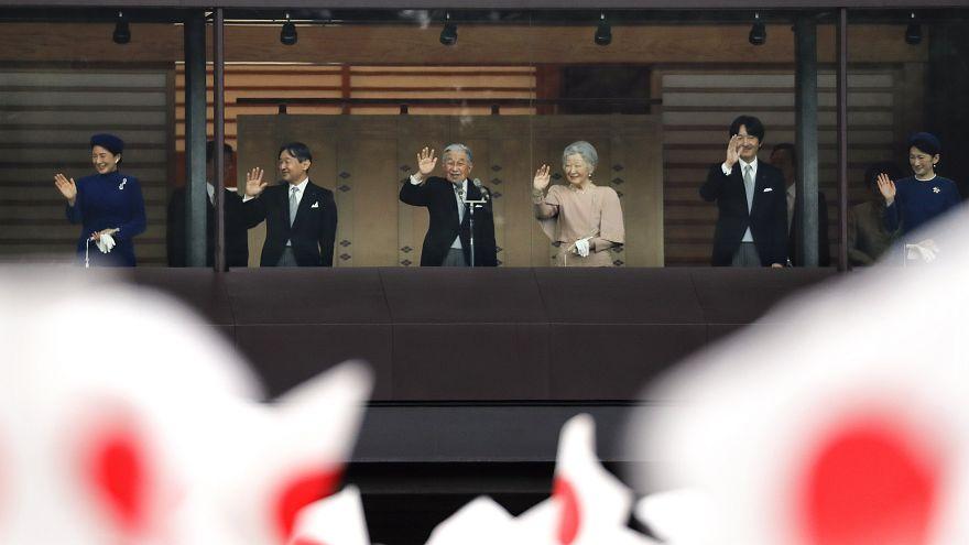 Image: Emperor Akihito marks 85th birthday in Tokyo