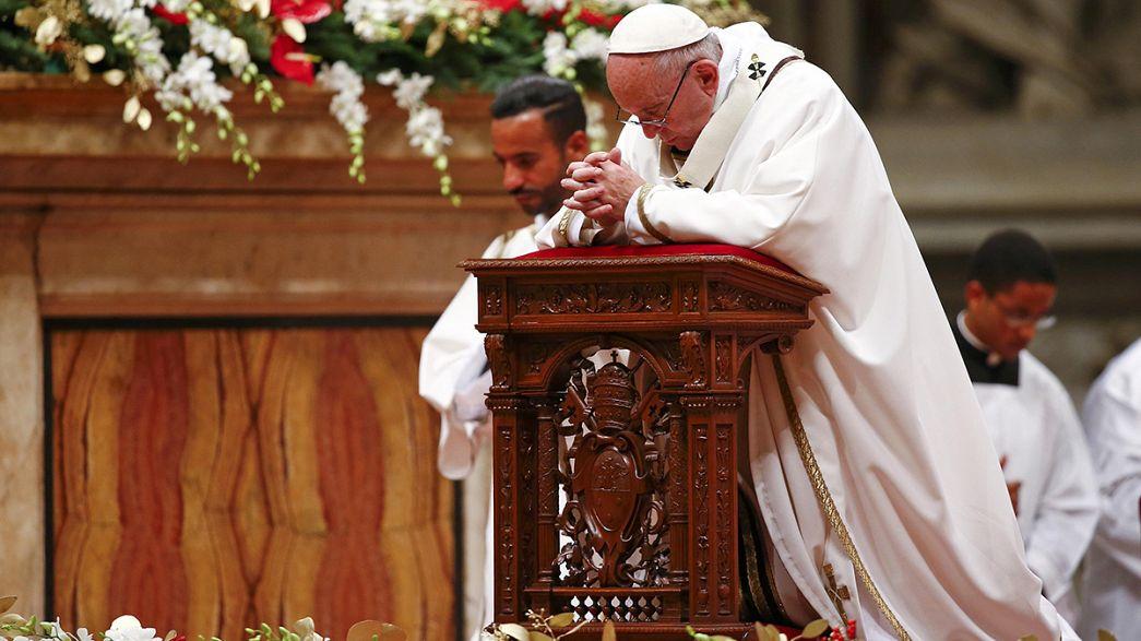 Papa Francisco dedica homilia da Missa do Galo às crianças em risco
