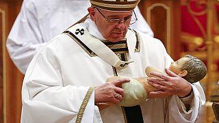 Célébration de noël au Vatican