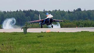 Russie: un avion militaire russe avec 92 personnes à bord s'abîme en mer Noire