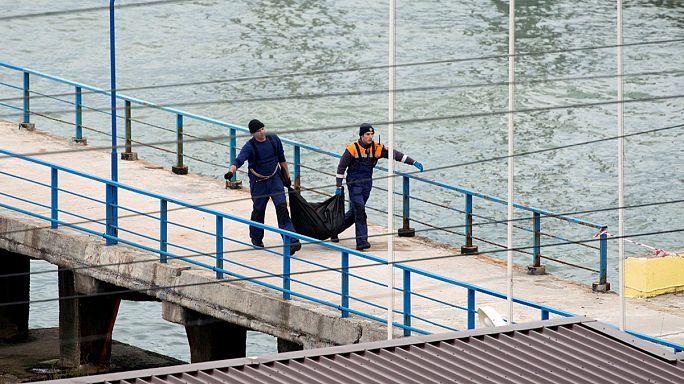 Крушение Ту-154: поисковая операция в Чёрном море