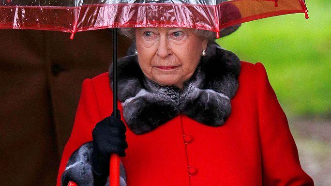 Kraliçe 2. Elizabeth Noel ayinine katılamadı