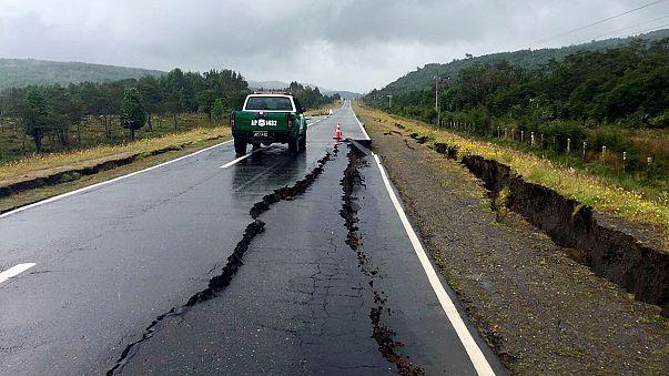 Два землетрясения, но пока без цунами: в Чили рызыгралась стихия