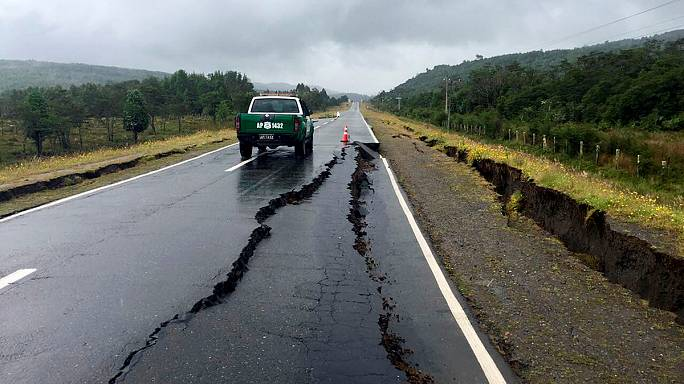 Tsunami alert lifted after powerful Chile quake