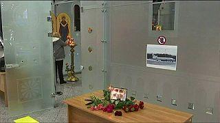 Premiers hommages aux victimes du crash en Mer noire