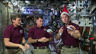 Christmas Dinner in Space