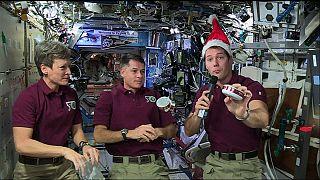 Natale in orbita