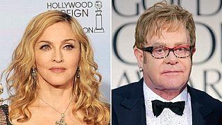 Madonna et Elton John rendent hommage à George Michael