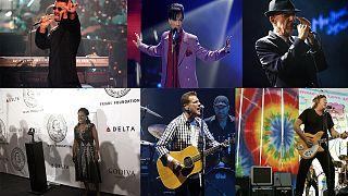 2016-ban több világsztárt veszített a zenész szakma