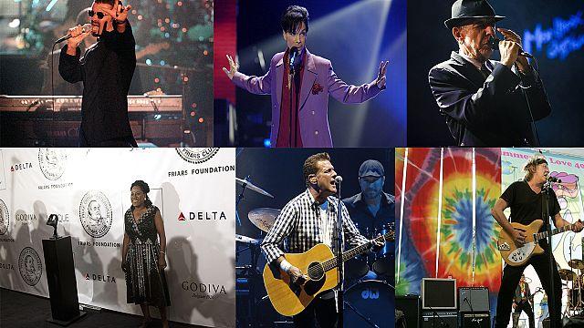 هؤلاء الفنانين رحلوا في 2016