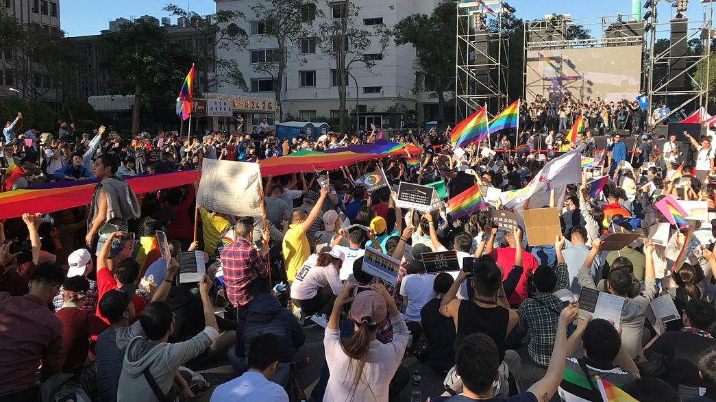 Тайвань: в первом чтении принят закон об однополых браках