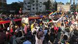 Demonstrations outside parliament as Taiwan relaxes rules against same-sex marriage