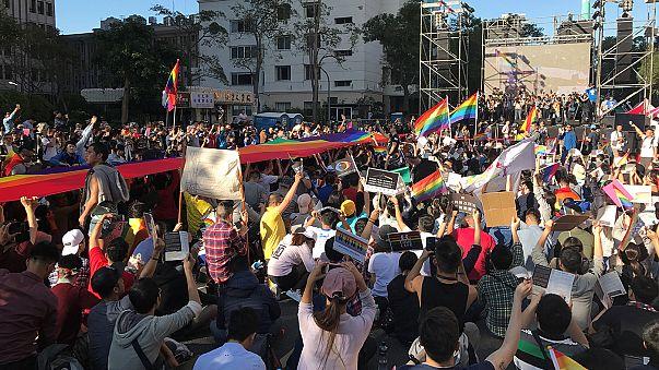 Mais um passo na legalização do casamento entre pessoas do mesmo sexo gera protestos em Taiwan