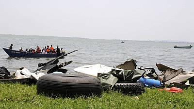 At least 30 people have drowned after an overcrowded vessel carrying a football team and their fans capsized on Lake Albert in Uganda, police say.